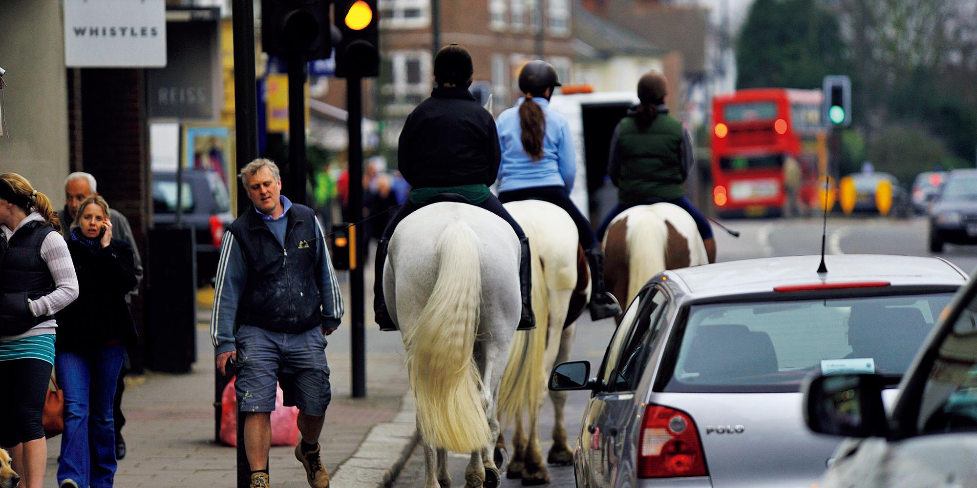 憧れの英国乗馬を学ぶ 02_ウィンブルドン・ヴィレッジ・ステーブル